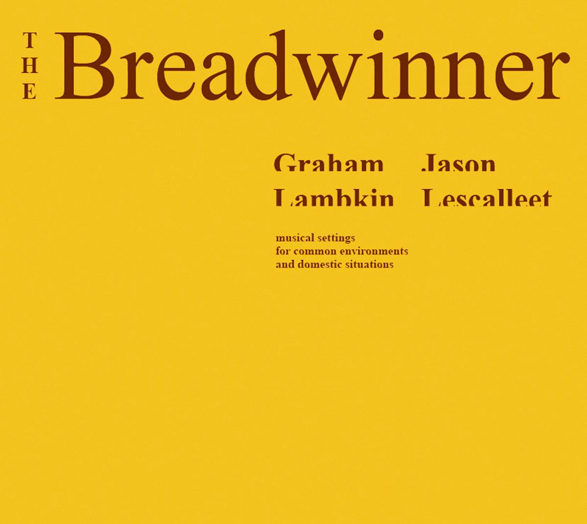The Breadwinner Album Cover