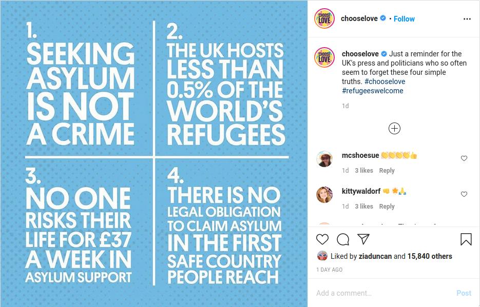 Image of instagram posts