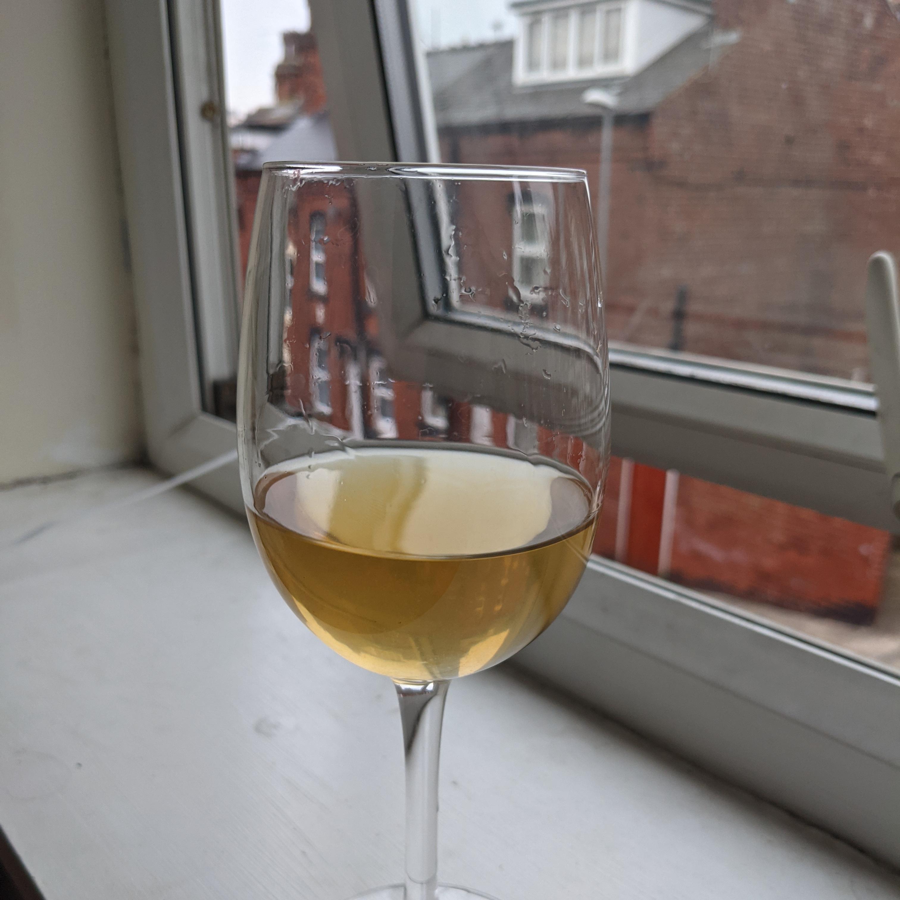 Final wine in glass